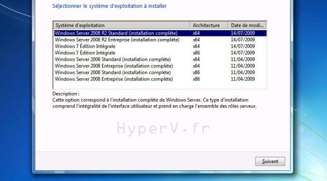 Support d'installation multi-windows 32-64bits (seven,2008,2008 R2,…) [USB/DVD]
