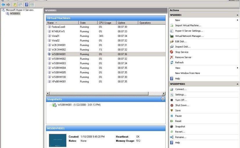 VMware vs Hyper-V, quoi choisir ?